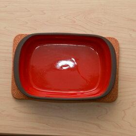 コルク鍋敷き長角型19.5センチマットレクタングル