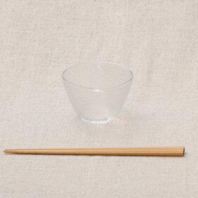 そうめん/冷麺ガラス食器セット四人分そうめん鉢4個+タレ小鉢4個冷や麦ひやむぎ流雅まとめてお得箱無食器セット