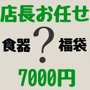 開店13周年記念 食器福袋 店長お任せ 7000円 送料無料 追加送料必要地域有 竹3