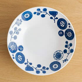 メランコリコプレートLパスタ皿カレー皿北欧風軽いおしゃれ日本製美濃焼食器