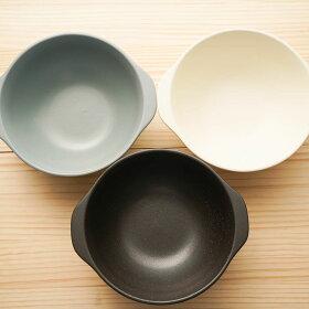 ヌードルボウル直火可耐熱黒/グレー/アイボリー大鉢ラーメン丼夜食や一人暮らしに一人用土鍋麺鉢