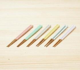 食洗機対応16cmパステルカラーお箸ピンク/グリーン/ライトグレー/イエロー/ブルー/パープル子ども向(子供/ベビー)栗の木おしゃれ日本製メール便発送可能こども