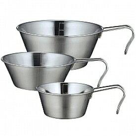 シェラカップ SOLA 3pcs PP-09(KKS-793660)[アウトドア キャンプ 調理器具 食器 計量カップ メジャーカップ]