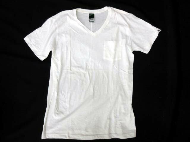 ベースコントロール BASE CONTROL Tシャツ カットソー 半袖 胸ポケット コットン size M 白 0227 メンズ 【中古】【ベクトル 古着】 180227 ブランド古着ベクトルプレミアム店