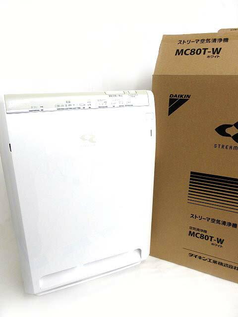 ダイキン DAIKIN MC80T-W ストリーマ 空気清浄機 リモコン付き 1020 【中古】【ベクトル 古着】 181020 ブランド古着ベクトルプレミアム店