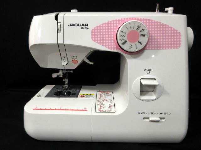 ジャガー JAGUAR 電動ミシン 白 ホワイト KD-750 ■ 【中古】【ベクトル 古着】 171002 ベクトルプラス楽天市場店