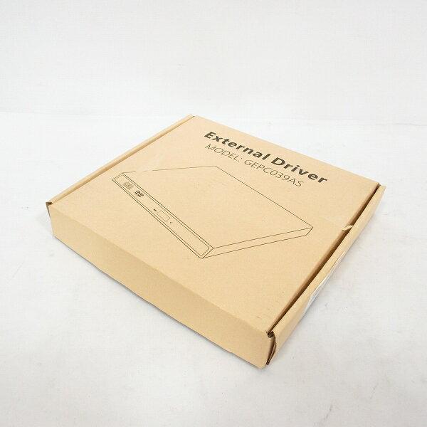 未使用品 Qtop USB 外付け DVD-R ドライブ GEPC039AS J180812 【中古】【ベクトル 古着】 180812 ブランド古着ベクトルプレミアム店