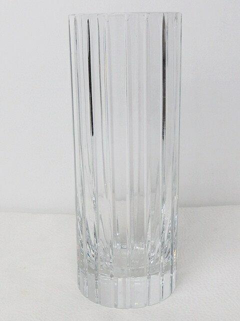 バカラ Baccarat ハーモニー フラワーベース 花瓶 クリスタル ガラス クリア 0522 【中古】【ベクトル 古着】 170522 ベクトルプラス楽天市場店