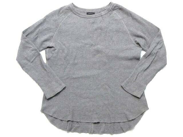 アメリカンラグシー AMERICAN RAG CIE Tシャツ ロンT ワッフル 長袖 グレー 2 LEK メンズ 【中古】【ベクトル 古着】 171129 ブランド古着ベクトルプレミアム店