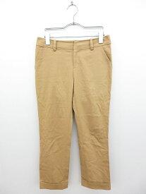 【中古】ノーリーズ Nolley's パンツ クロップド ノータック コットン 36 ベージュ メンズ 【ベクトル 古着】 170419 ブランド古着ベクトルプレミアム店