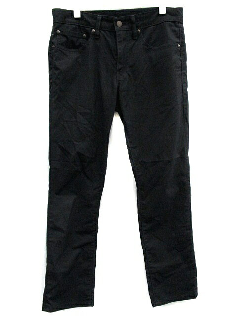リーバイス Levi's 511 パンツ ストレート スリム ロング 黒 ブラック /YW7 メンズ 【中古】【ベクトル 古着】 181008 ブランド古着ベクトルプレミアム店