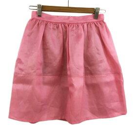 【中古】スナイデル snidel スカート フレア ミニ 1 ピンク レディース 【ベクトル 古着】 200409 ベクトルプレミアム店