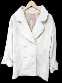 ダズリン dazzlin コート オーバーサイズ M 白 ホワイト /SU1 レディース 【中古】【ベクトル 古着】 181018 ブランド古着ベクトルプレミアム店
