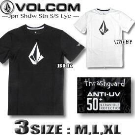 VOLCOM ボルコム メンズ ラッシュガード 半袖Tシャツスタイル 水着 サーフT UPF50+ JAPAN LIMITED 【メール便対応】【あす楽対応】 N01219G0