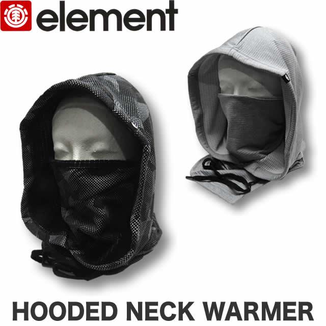 【40%OFF!!】ELEMENT エレメント メンズ ネックウォーマー パーカー マフラー フードウォーマー【あす楽対応】【メール便対応】AH022-987