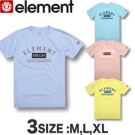 エレメント Tシャツ メンズ 半袖 ELEMENT アウトレット スケボー SALE セール【あす楽対応】AI021-251