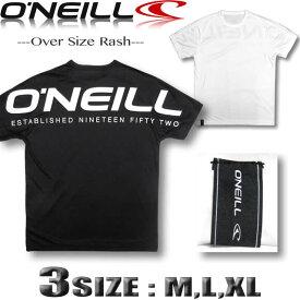 オニール O'NEILL メンズ 水着 半袖 ラッシュガード オーバーサイズ ドロップショルダー サーフブランド【水着】【あす楽対応】【メール便対応】619480