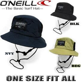 サーフハット メンズ オニール O'NEILL ビーチハット UVカット 帽子 サファリハット【あす楽対応】 610907