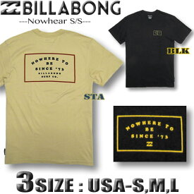 ビラボン メンズ 半袖 Tシャツ BILLABONG USA企画 サーフブランド アウトレット CORE FIT【メール便対応】【あす楽対応】Sサイズ,Mサイズ,Lサイズ AI012-255