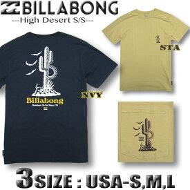 ビラボン メンズ 半袖 Tシャツ BILLABONG USA企画 サーフブランド アウトレット バックプリント【メール便対応】【あす楽対応】Sサイズ,Mサイズ,Lサイズ AI012-260
