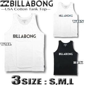 ビラボン タンクトップ Tシャツ メンズ サーフブランド 半袖 ノースリーブ BILLABONG アウトレット 3カラー Sサイズ〜Lサイズ ホワイト ブラック 白 黒【あす楽対応】AI011-350