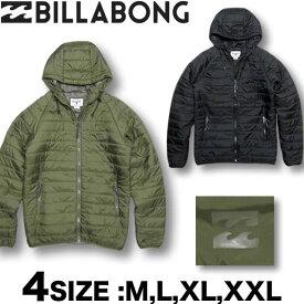 【50%OFF!!】ビラボン BILLABONG メンズ パーカー ダウンスタイル 中綿 ナイロンジャケット アウター Mサイズ〜XXLサイズ 大きいサイズ 【あす楽対応】AG012-754