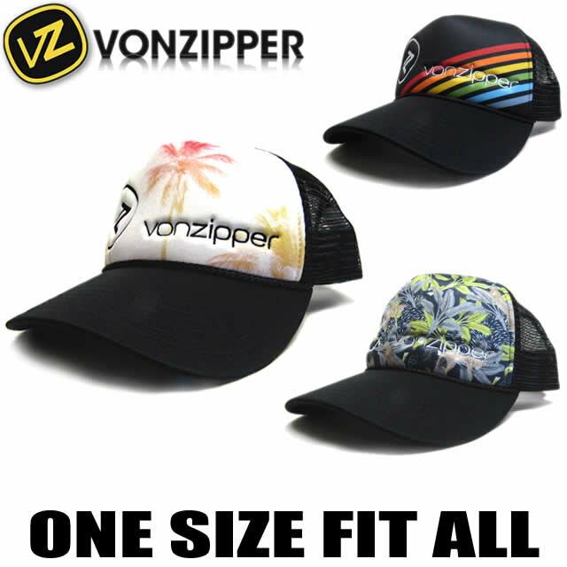ボンジッパー キャップ 帽子 VONZIPPER メッシュキャップ 定番 トラッカー サーフブランド【あす楽対応】AH211-900