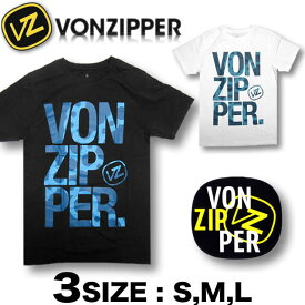 VONZIPPER ボンジッパー メンズ 半袖 Tシャツ ビッグロゴプリント【メール便対応】【あす楽対応】