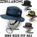 ビラボン メンズ サーフハット BILLABONG 帽子 UVハット 紫外線対策 プリント柄 サーフブランド【2018年モデル】【メ…