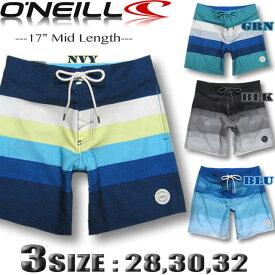【メール便送料無料】O'NEILL オニール メンズ サーフパンツ 17INCH ボードショーツ トランクス【水着】【あす楽対応】【メール便対応】618404