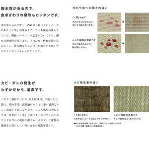 【送料無料】小波置き敷き畳820×820×13(mm)3枚入り12栗色14灰桜色15白茶色Daiken/ダイケン