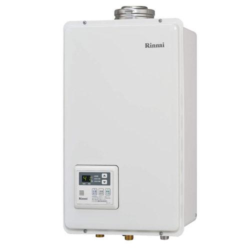 【送料無料】 リンナイ RUX-V2405FFUA ガス給湯専用機 24号 都市ガス・LPG選択可能 FF方式・屋内壁掛型