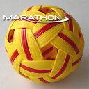 セパタクローボール Marathon社製 MT.909 女子用 黄×赤 競技用 公認球 マラソン Sepak takraw