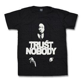 【送料無料】TRUST NOBODY Tシャツ 2PAC 黒 M/L/XLサイズ TUPAC メンズ ブラック ウェア レジェンド