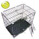 給水器おまけ付★小型犬、うさぎ、ネコちゃんに! ペットケージ S H38×W46×D30cm