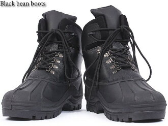 Sabage military boots, military boots new black bean boot military boots