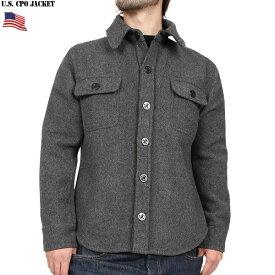 新品 米軍 C.P.O.ウールジャケット グレー 肉厚のウール、ナイロンで製作され防寒性抜群 襟やボタン、表記タグなど細かなディティールも再現 WIP メンズ ミリタリー アウトドア キャッシュレス 5%還元 新生活応援 衣替え
