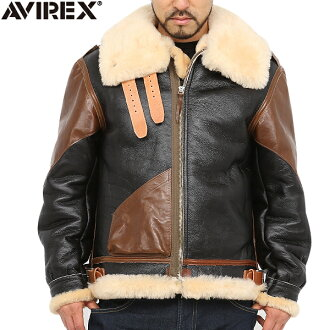 AVIREX avirexl vintage b-3 Sheepskin jacket avirex avirex / men's / military / jackets / genuine avirex-AVIREX