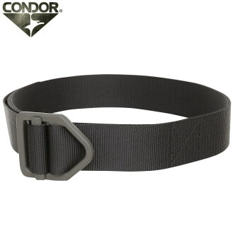 Sabage belt CONDOR Condor INCE tractor belt BLACK steel buckles and nylon for strength strong lightweight tactical WIP sabage belt