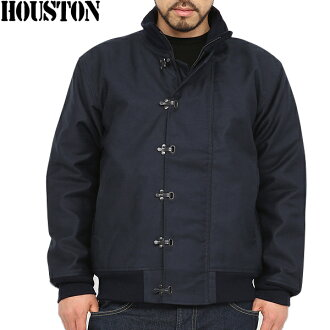 Navy all-purpose jacket at the time loved HOUSTON Houston U.S.NAVY N-10 deck jacket NAVY sea sailor detail faithfully reproduce the WIP deck jacket