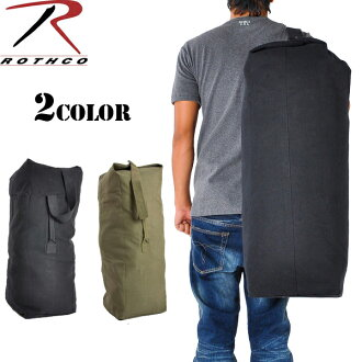 Rothco Rothko top load canvas Duffle Bag STANDARD (small) bag with shoulder strap cottenwebsciol portable easy duffel bag