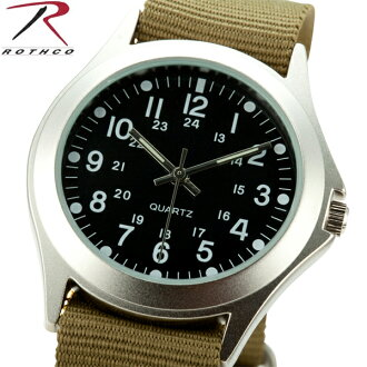 ROTHCO Rothko 4127 MILITARY STYLE QUARTZ WATCH OLIVE lightweight but fits on the arm-sized Board is easy to see outdoors and survival game can be very active field watch WIP ROTHCO Rothko