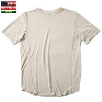 실물 신품 미군 NBS7 AFR701C T셔츠 SAND 샌드 맨즈 밀리터리 탑스 언더웨어 이너 속건성 소취 효과 밀 스펙 MIL-SPEC ECWCS mss WIP