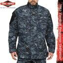 サバゲー 服 TRU-SPEC トゥルースペック 米軍 Tactical Response Uniform ジャケット NAVY Digital Camo (Midnight Digital) [13