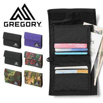 GREGORY 그레고리 CLASSIC WALLET クラシックワレット/밀리터리 식물 무늬 mss WIP 남성 지갑 클래식 지갑 10P05Nov16