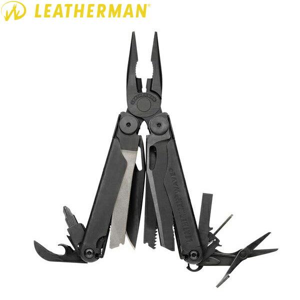 クーポンで最大1500円OFF◆LEATHERMAN レザーマン WAVE Black ウェーブ ブラック メンズ ミリタリー アウトドア WIP-1 ハロウィン コスプレ 送料無料