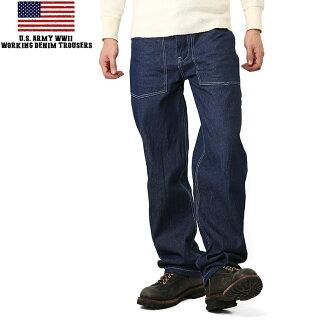 新我们美国军队工作粗斜纹棉布裤子一洗再生产军事工作裤工作裤牛仔裤 mss WIP 男装