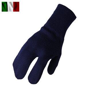 ミリタリー 実物 新品 デッドストック イタリア軍 A.M.I ウールミトン グローブ ネイビー 手袋 WIP メンズ ミリタリー アウトドア セール【クーポン対象外】