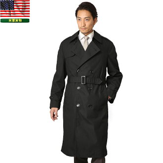 Real new U.S. NAVY trucker trench coat 36 military jacket slim silhouette and casual to formal and pittarihamar products
