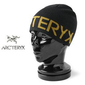 【あす楽】ARC'TERYX アークテリクス 15221 Word Head Toque(ワードヘッド トーク)【正規取扱店】【Sx】|ニットキャップ ビーニー ワッチキャップ メンズ レディース 帽子 ブランド おしゃれ カジュアル アウトドア ビッグロゴ ブラック 秋 冬